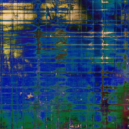 Grunge old texture as abstract background. With different color patterns: yellow (beige); brown; green; blue; pink