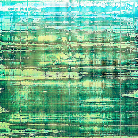 Grunge background for a creative vintage style poster. With different color patterns: yellow (beige); green; gray; cyan; white; blue