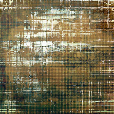 gloomy: Elegant vintage background, antique texture. Designed grunge template with different color patterns: yellow (beige); brown; green; gray; white