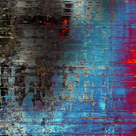 Designed grunge texture or background. With different color patterns: gray; blue; red (orange); purple (violet); cyan; black Stock Photo