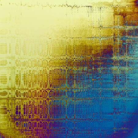 Art grunge texture, vintage abstract background for creative design. With different color patterns: yellow (beige); blue; red (orange); purple (violet)