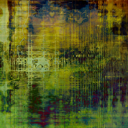 Art grunge background, vintage style textured frame. With different color patterns: yellow (beige); brown; green; blue; purple (violet)