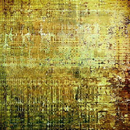 tinted: Cute colorful grunge texture or tinted vintage background with different color patterns: yellow (beige); brown; green; gray