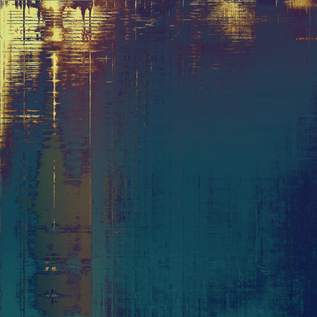 Hi res grunge texture or retro background. With different color patterns: yellow (beige); brown; blue; gray; cyan