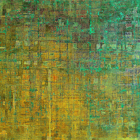 Highly detailed grunge background or scratched vintage texture. With different color patterns: yellow (beige); brown; green; blue; gray; cyan