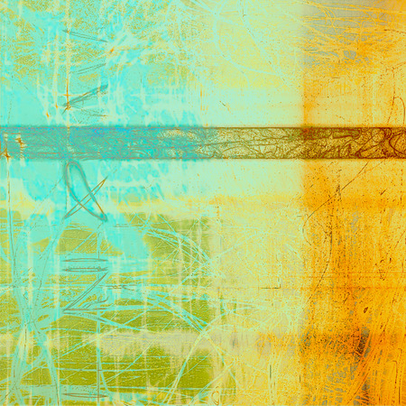 Rough vintage texture. With different color patterns: yellow (beige); brown; blue; gray; cyan