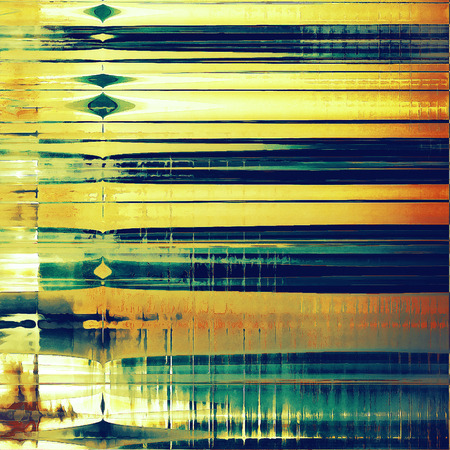 Old, grunge background or ancient texture. With different color patterns: yellow (beige); brown; green; blue; red (orange); cyan