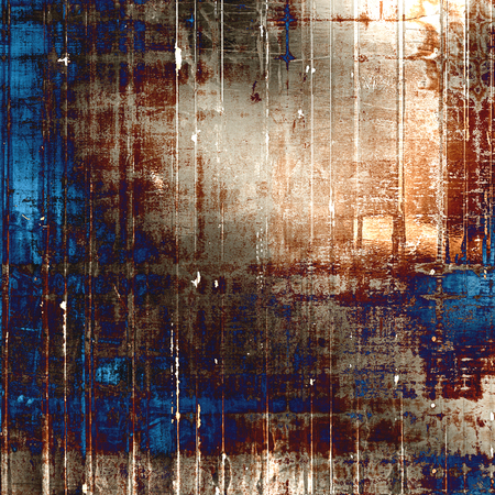 corrosion: Designed grunge texture or background. With different color patterns: yellow (beige); brown; gray; blue; purple (violet)
