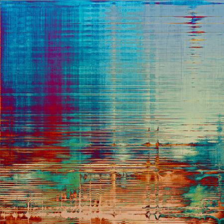 ヴィンテージには、古い傷背景テクスチャが高齢者。さまざまなカラー パターンで: 黄色 (ベージュ);茶色;灰色;青;赤 (オレンジ);パープル (紫)