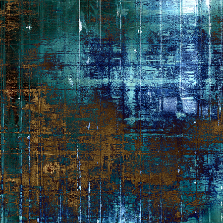 eroded: Aged grunge texture. With different color patterns: gray; blue; cyan; brown; green