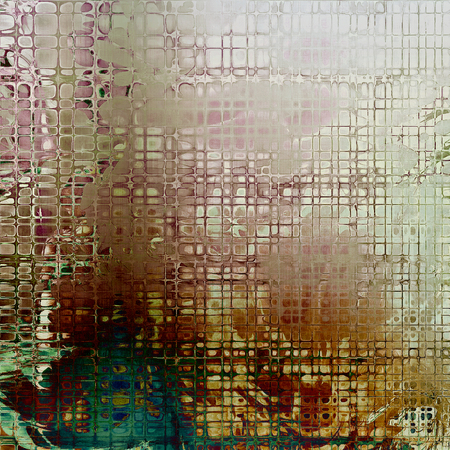 dirt: Art vintage texture, decorative grungy background. With different color patterns: yellow (beige); brown; green; gray; blue; white