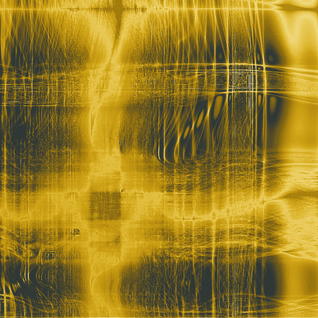 eroded: Abstract grunge textured background. With different color patterns: yellow (beige); brown; gray; black Stock Photo
