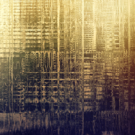 scratches: Stylish grunge texture, old damaged background. With different color patterns: yellow (beige); brown; gray; purple (violet) Stock Photo