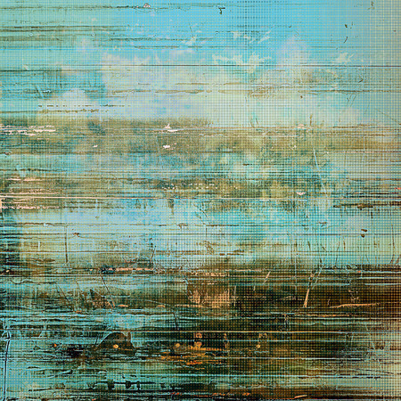 Abstract distressed grunge background. With different color patterns: yellow (beige); brown; blue; gray; cyan