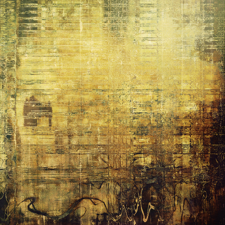 gothic style: Abstract grunge background or damaged vintage texture. With different color patterns: yellow (beige); brown; green; gray; black