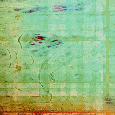 blemish: Vintage texture with space for text or image, grunge background. With different color patterns: yellow (beige); brown; green; blue; red (orange); cyan