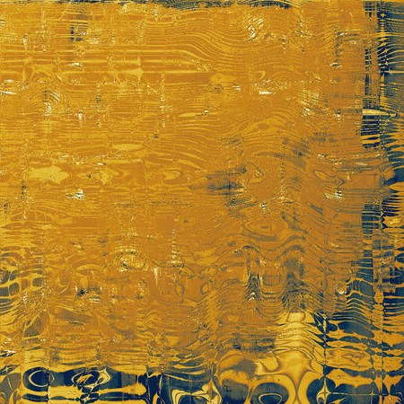 Abstract retro background or old-fashioned texture. With different color patterns: blue; yellow (beige); brown; gray Stock Photo