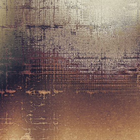 Colorful designed grunge background. With different color patterns: yellow (beige); brown; gray; black; white