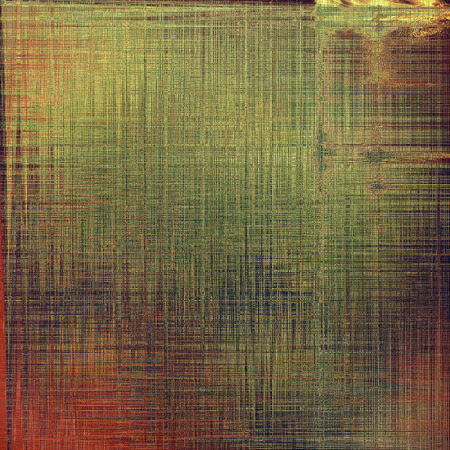 tough: Colorful abstract retro background, aged vintage texture. With different color patterns: yellow (beige); brown; green; red (orange); pink
