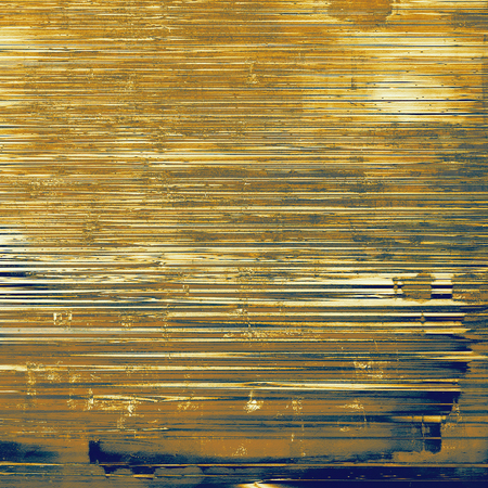 tough: Old vintage backdrop. Original background or aged texture with different color patterns: blue; yellow (beige); brown; gray