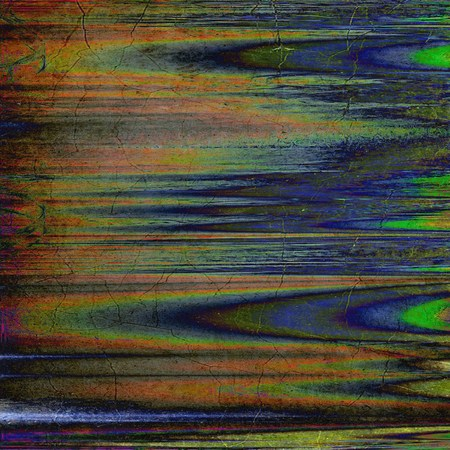 Grunge texture with decorative elements and different color patterns: yellow (beige); brown; gray; green; blue; red (orange)