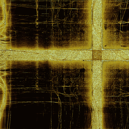 mesh: Designed background in grunge style. With different color patterns: yellow (beige); brown; black Stock Photo