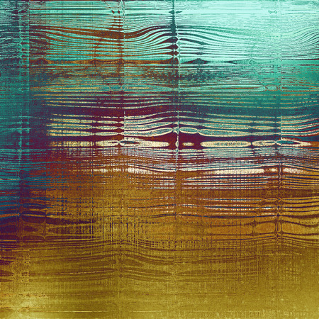 wreck: Abstract grunge background of old texture. With different color patterns: yellow (beige); brown; green; blue; cyan