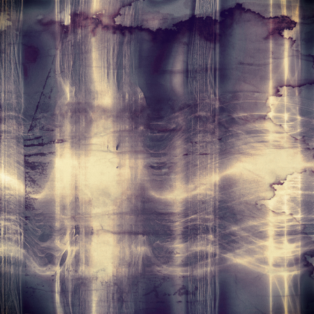 Grunge texture or background with retro design elements and different color patterns: yellow (beige); purple (violet); gray; blue Stok Fotoğraf