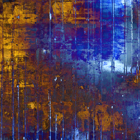Grunge texture. With different color patterns: yellow (beige); brown; gray; blue; cyan