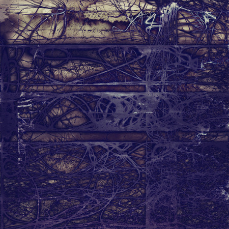 Grunge antique frame, vintage style background. With different color patterns:
