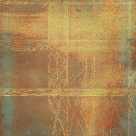 old fashioned: Old school frame or background with grungy textured elements and different color patterns: