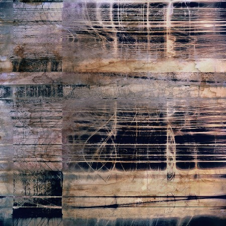 old fashioned: Grunge abstract textured background, aged backdrop with different color patterns: Stock Photo