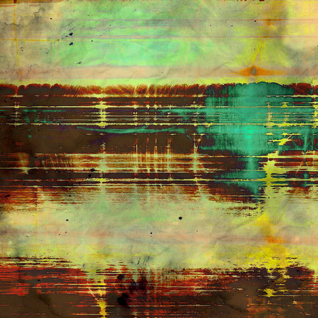 brushed: Retro background with grunge texture. With different color patterns: