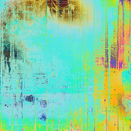 Abstract grunge weathered background of vintage texture. With different color patterns Stock Photo