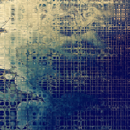 obscure: Grunge background or vintage texture in traditional retro style. With different color patterns