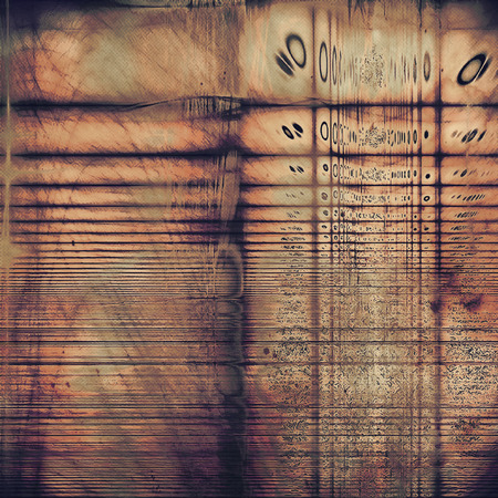 old fashioned: Old grunge vintage background or shabby texture with different color patterns