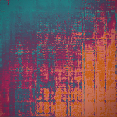Grunge texture, scratched surface or vintage background. With different color patterns
