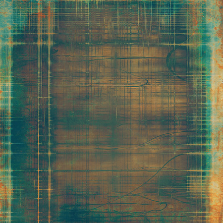 Art vintage background with space for text and different color patterns