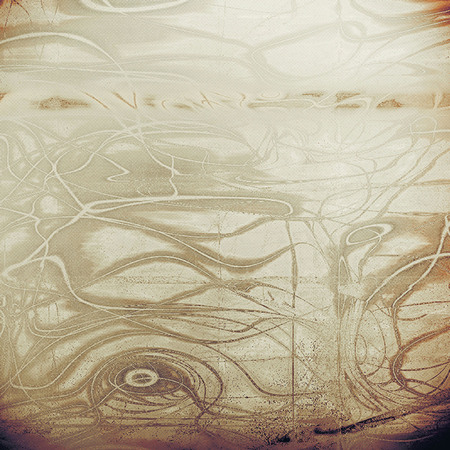 Vintage texture or antique background with grunge decorative elements and different color patterns