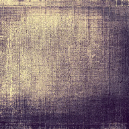 Background with grunge elements on vintage style old texture. With different color patterns