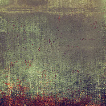 Aged background or texture. Vintage graphic composition with grunge style elements and different color patterns Stock Photo