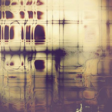 Old school background or texture with vintage style grunge elements and different color patterns Banco de Imagens