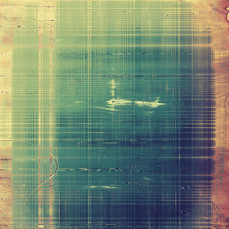 Old grunge background with delicate abstract texture and different color patterns Stock fotó