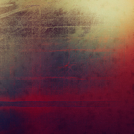 Grunge scratched background, abstract vintage style texture with different color patterns Stock Photo