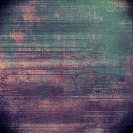 Retro vintage style background or faded texture with different color patterns