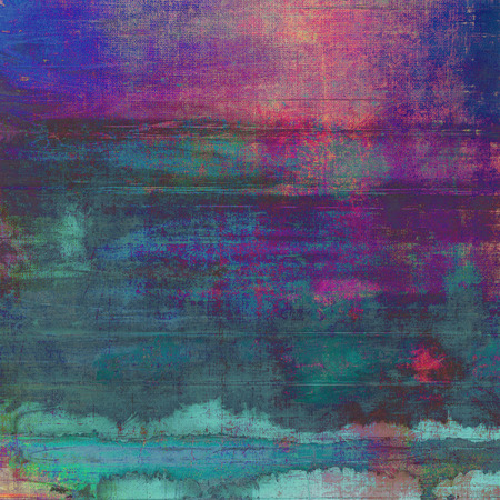 Retro background, antique texture for abstract vintage design composition. With different color patterns Stock Photo