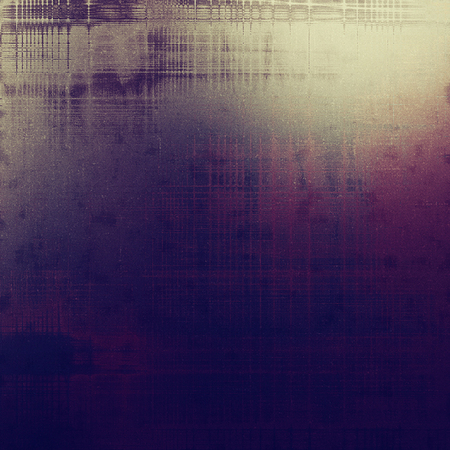 Dirty and weathered old textured background. With different color patterns Banco de Imagens