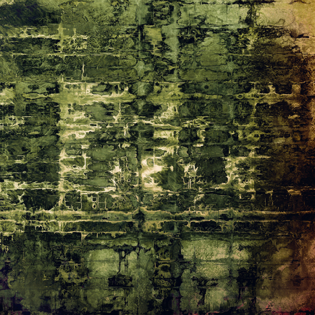 Antique frame with grunge background. With different color patterns Stock Photo