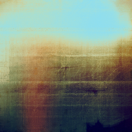 Old grunge background with delicate abstract texture and different color patterns Stock Photo