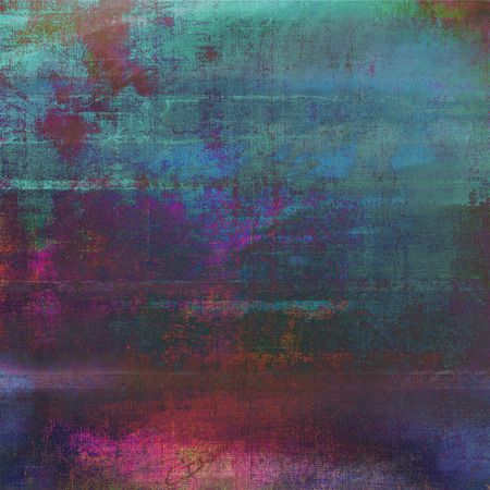 Grunge old texture used as abstract vintage style background. With different color patterns 스톡 콘텐츠